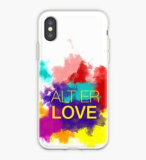 ALT ER LOVE - skam iPhone Case