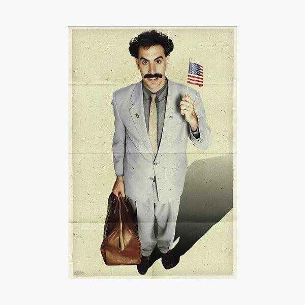 borat, sacha baron cohen, movie poster Photographic Print