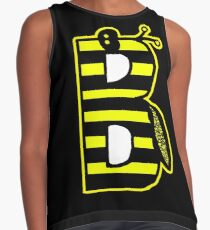 THE LETTER B - 2018- 40 DAY CHALLENGE - HAND DRAWN - GRAHIC ALPHABET  Contrast Tank