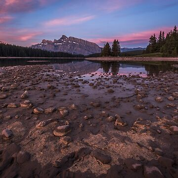 Sunrise at Two Jacks Lake, Canada by mattmacpherson