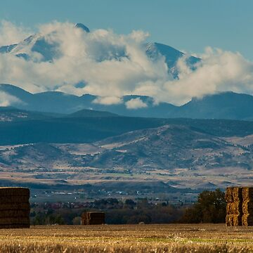 Longs Peak Above The Clouds by nikongreg
