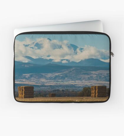 Longs Peak Above The Clouds Laptop Sleeve