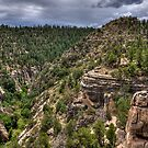 Walnut Canyon by Sue  Cullumber