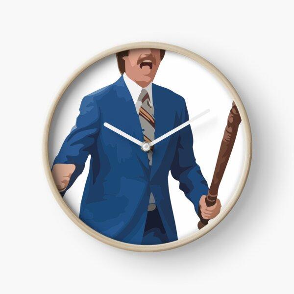 Ron Burgundy - Anchorman Clock