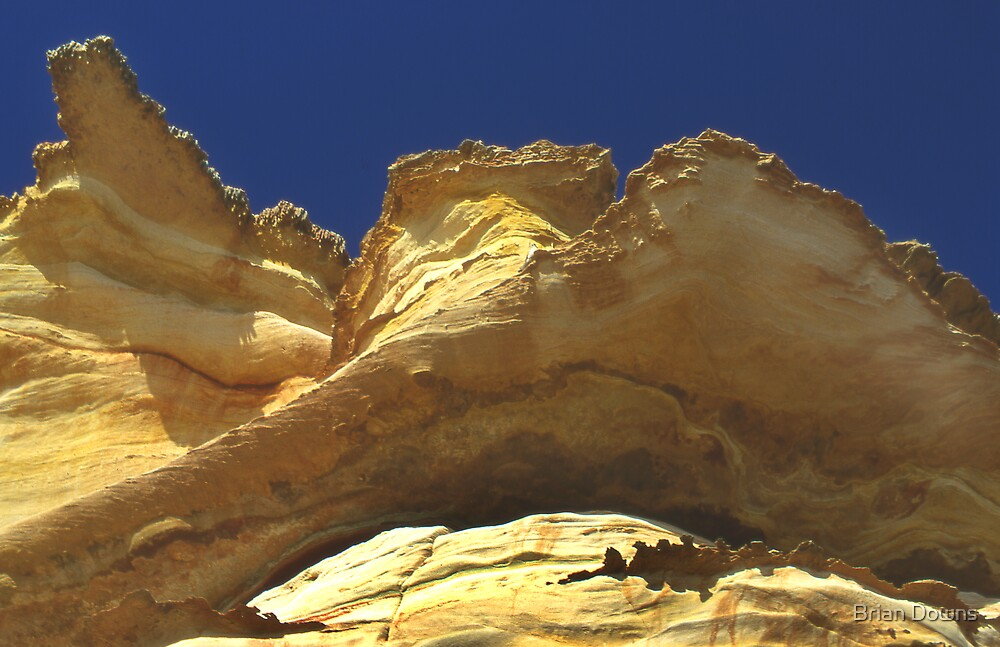 Red Bluff Kalbarri WA by Brian Downs