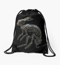 BIO-MECHANICAL ZOMBUNNIE Drawstring Bag