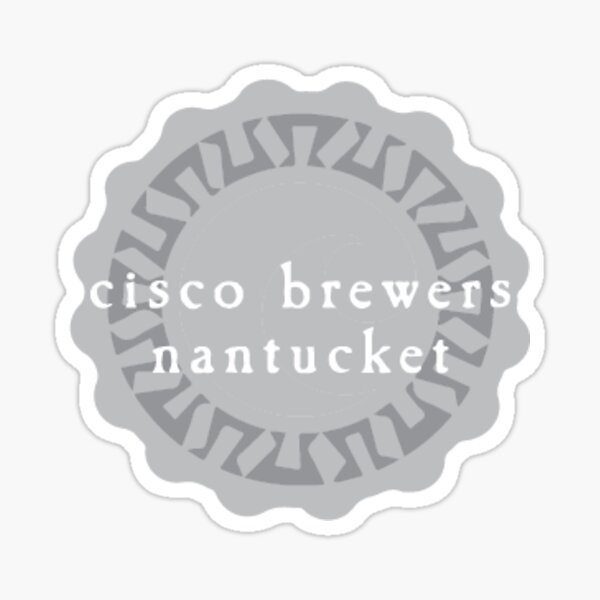 cisco brewers bottle top Sticker