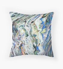 Fluctuating Geology Throw Pillow