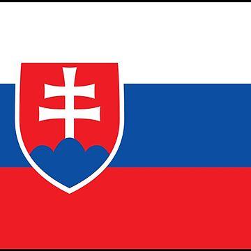 Slovakia - National Flag - Current by CrankyOldDude