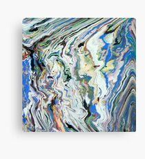 Fluctuating Geology Canvas Print
