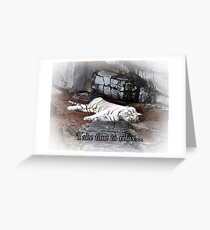 Mom's Afternoon Nap Greeting Card