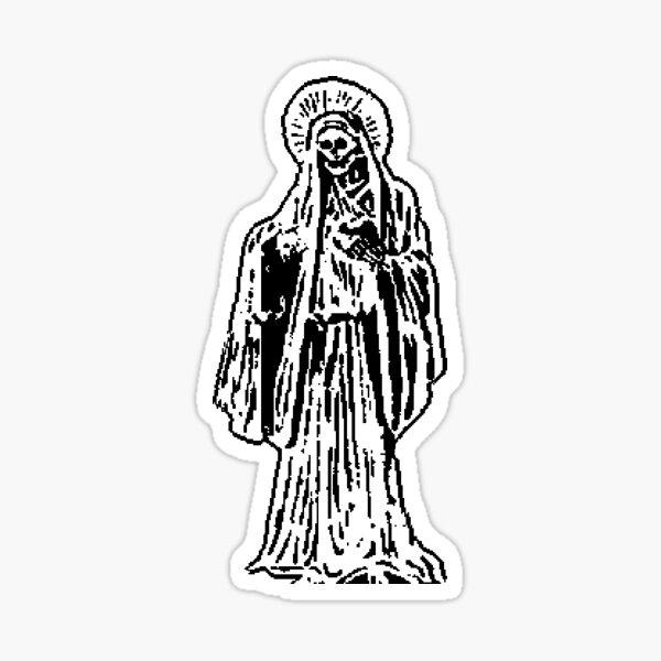 Santa Muerte Pegatina