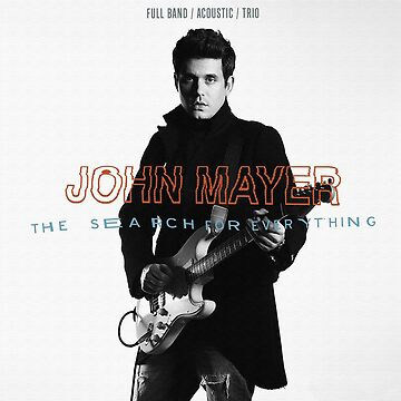 John Mayer: The Search for Everything [Mixed Media] by michaelroman