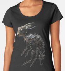 BIO-MECHANICAL ZOMBUNNIE Premium Scoop T-Shirt