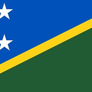 Solomon Islands - National Flag - Current by CrankyOldDude