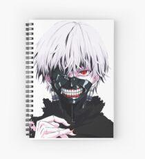 ken kaneki tokyo ghoul Spiral Notebook