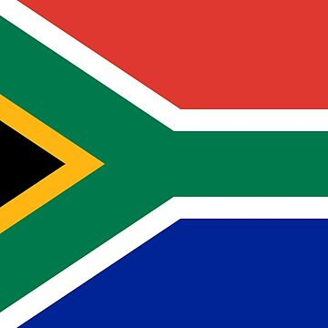 South Africa - National Flag - Current by CrankyOldDude