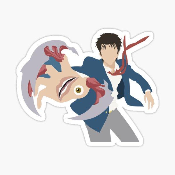 shinishi migi parasite kiseijuu Sticker