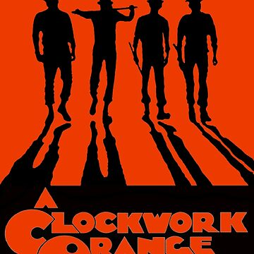 A Clockwork Orange in Orange  by brett66