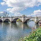 Richmond Bridge view, London by tdphotogifts