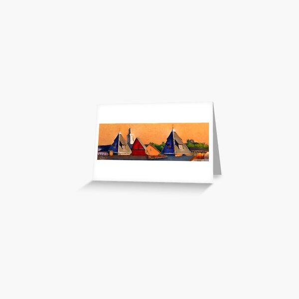 Hopper Sunday Morning Greeting Card