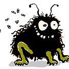 Dark'n'hairy animal by greendeer