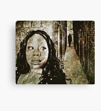 Noises in the Darkness Canvas Print