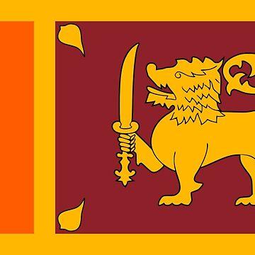 Sri Lanka - National Flag - Current by CrankyOldDude