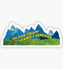 The Von Trapp Family Singers Sticker