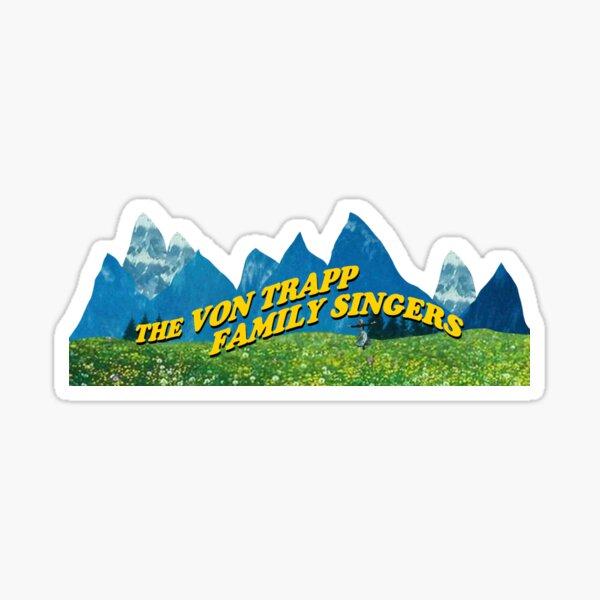 The Von Trapp Family Singers Sticker