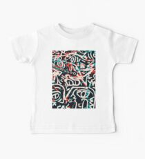 Street Art Graffiti Pattern Ink and Posca  Baby Tee