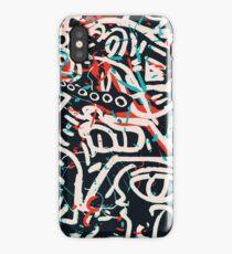 Street Art Graffiti Muster Tinte und Posca iPhone-Hülle & Cover