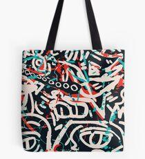 Street Art Graffiti Pattern Ink and Posca  Tote Bag