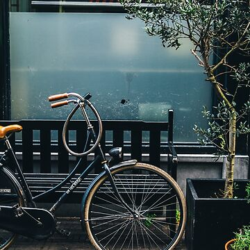 Bicycle In The Street by PatiDesigns