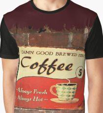 Damn Good Coffee Graphic T-Shirt