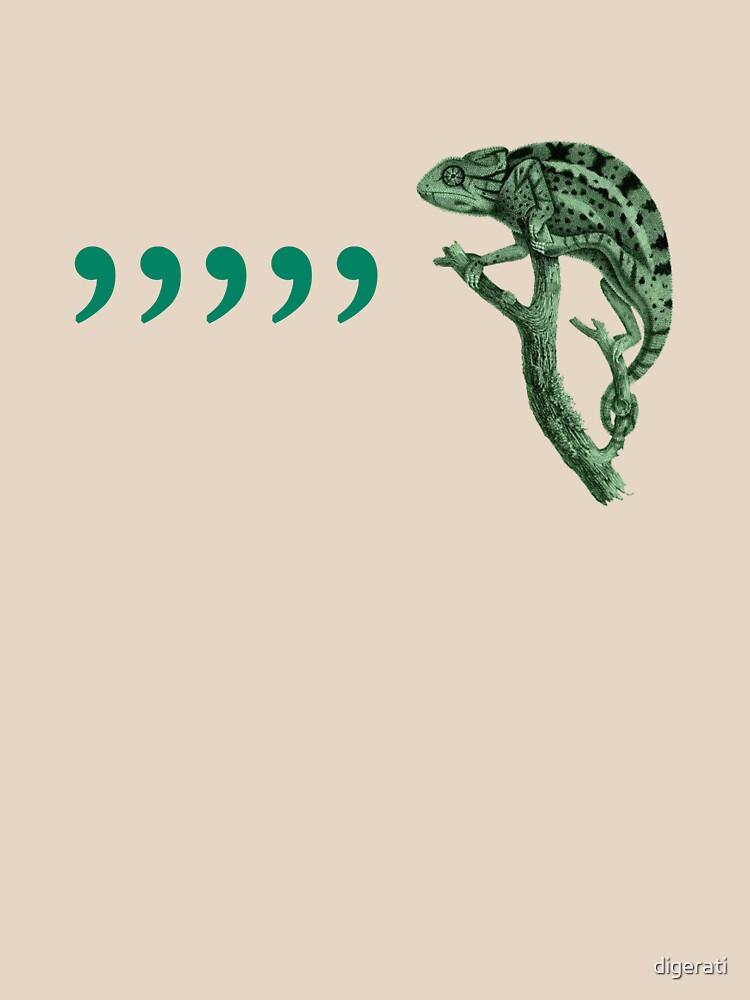 Comma chameleon | Unisex T-Shirt