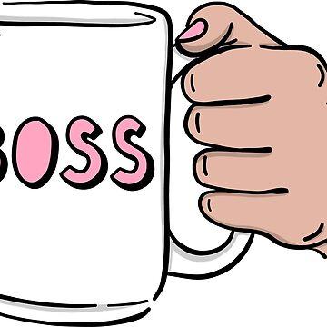 Girl Boss Mug by michellestam