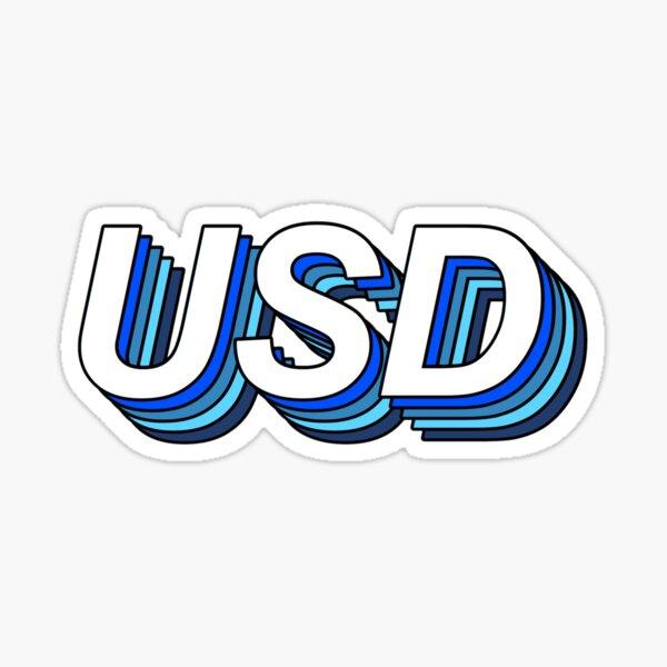 USD Sticker