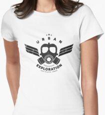 Urban Exploration Tailliertes T-Shirt für Frauen
