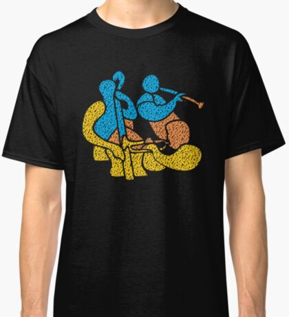 Jazz Trio Modern Style Classic T-Shirt