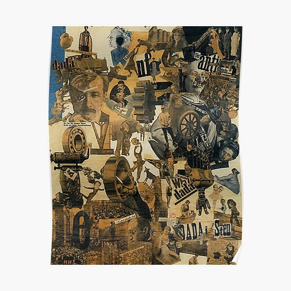 Favourite Artist -  Hannah Hoch - Cut with the kitchen Knife through the beer belly of the Weimer republic Poster