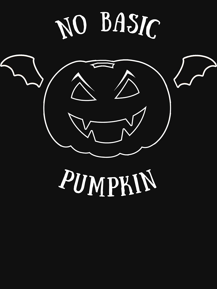 halloween no basic pumpkin von KM-Shirt