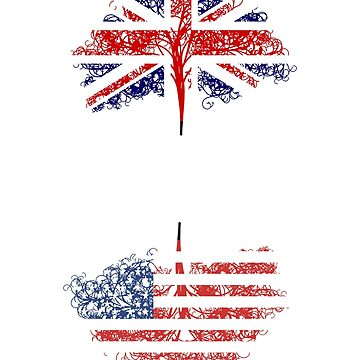 English born, American roots design by jhussar