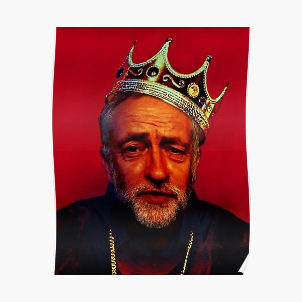 The Notorious Jeremy Corbyn Poster