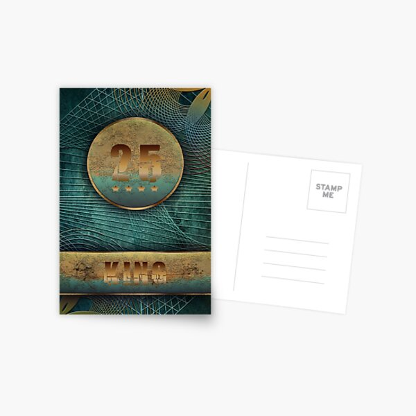 King Postcard