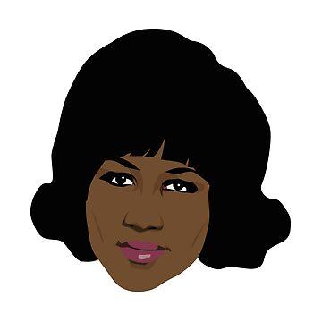 Aretha Franklin by gregs-celeb-art