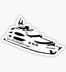 yacht Sticker