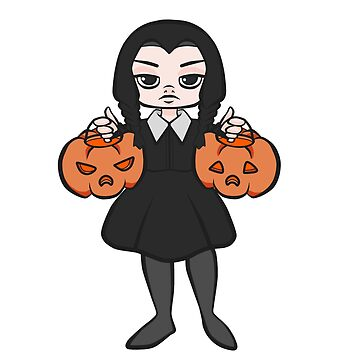 Wednesday Addams by Moemie