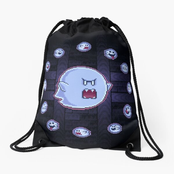 Circle of Boos Drawstring Bag