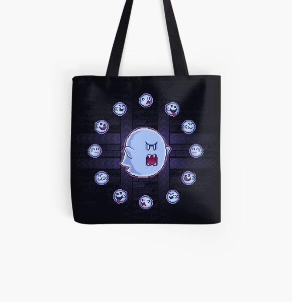 Circle of Boos All Over Print Tote Bag